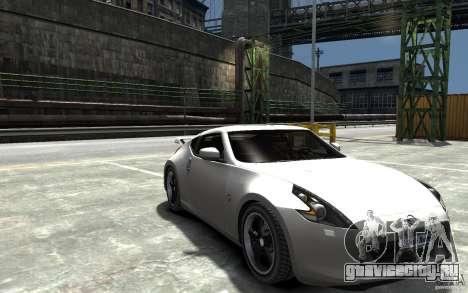 Nissan 370z Tuned Final для GTA 4 вид сзади