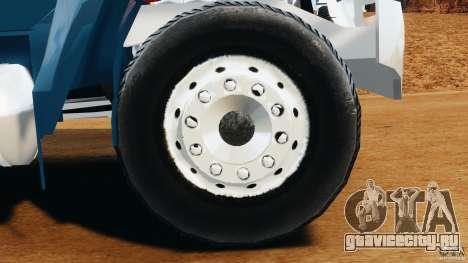 Ford F-650 XLT Superduty для GTA 4 вид изнутри
