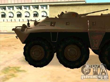 БТР 80 для GTA San Andreas вид слева