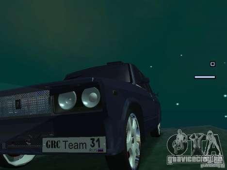 ВАЗ 2105 Drift King для GTA San Andreas вид сзади слева