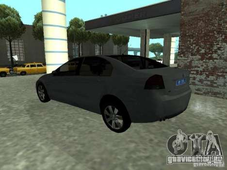 Holden Calais для GTA San Andreas вид слева