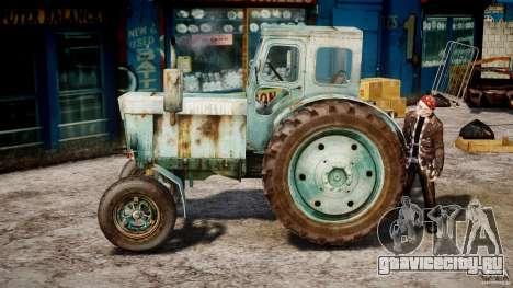 Трактор T-40M для GTA 4 вид слева