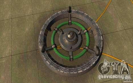 UFO hunter для GTA San Andreas вид слева