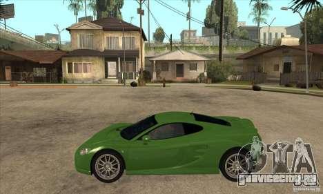 Ascari KZ1 для GTA San Andreas вид слева