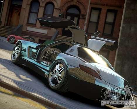 Mercedes SLS Extreme для GTA 4 вид сверху