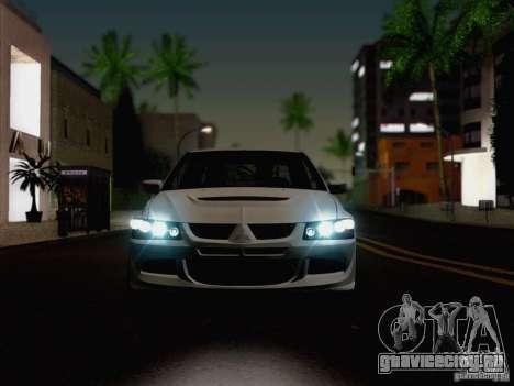 New Car Lights Effect для GTA San Andreas пятый скриншот