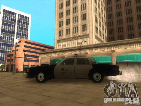 Chevrolet Caprice Interceptor LAPD 1986 для GTA San Andreas вид слева