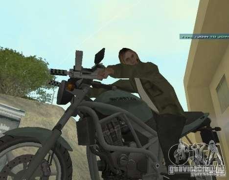 PCJ-600 из GTA IV для GTA San Andreas вид слева