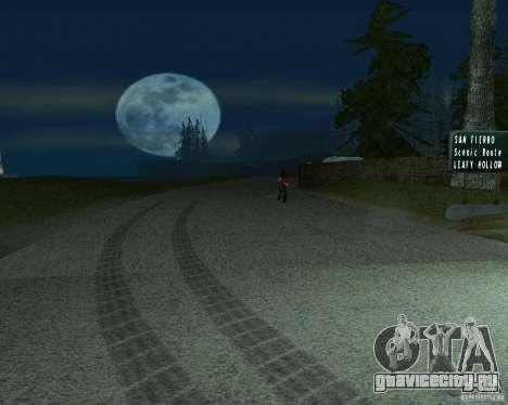 Новые дороги в San Fierro для GTA San Andreas
