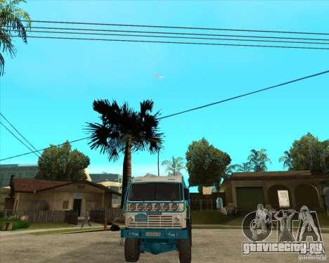 KAMAZ 4911 (2007) Rally Raid version для GTA San Andreas вид сзади