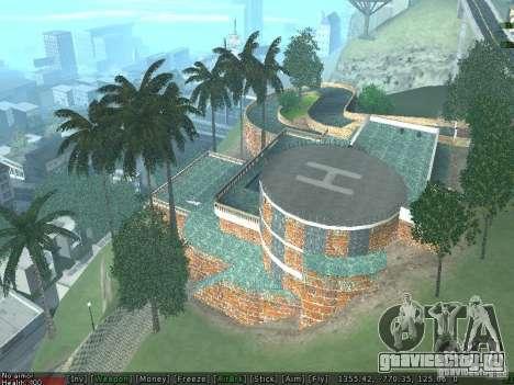 Новая вилла Мед-Догга для GTA San Andreas четвёртый скриншот