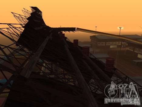 Huge MonsterTruck Track для GTA San Andreas десятый скриншот