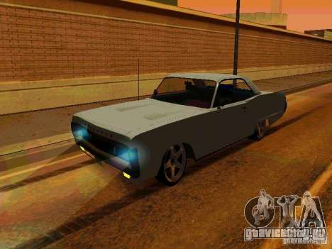 Plymouth Fury Sport 1970 для GTA San Andreas вид слева