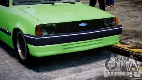 Chevrolet Chevette 1.6 1993 для GTA 4 вид сбоку