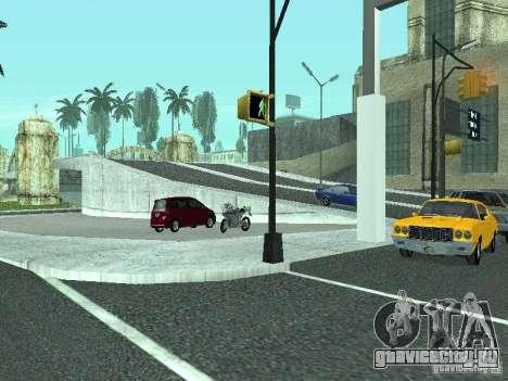 Mega Cars Mod для GTA San Andreas десятый скриншот