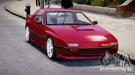Mazda RX7 FC3S v2 FINAL для GTA 4 вид справа