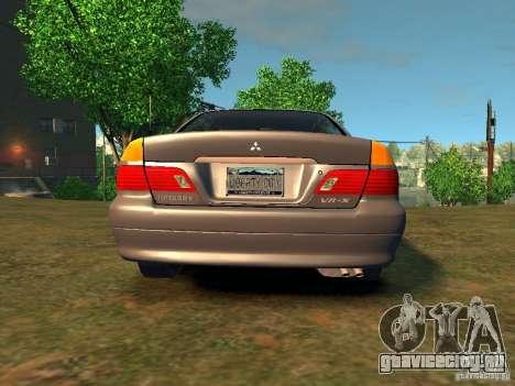 Mitsubishi Diamante v2.0 для GTA 4 вид сзади слева
