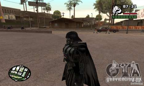Darth Vader для GTA San Andreas третий скриншот