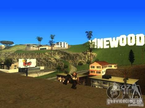 Animation Mod для GTA San Andreas девятый скриншот