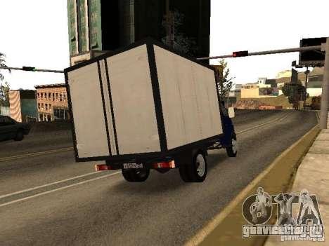 ГАЗ 3302-14 для GTA San Andreas вид сзади слева