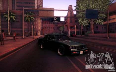 Buick Regal GNX для GTA San Andreas вид сверху