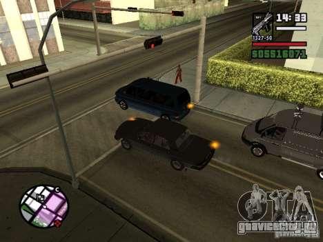 Поворотники 2.1 для GTA San Andreas второй скриншот