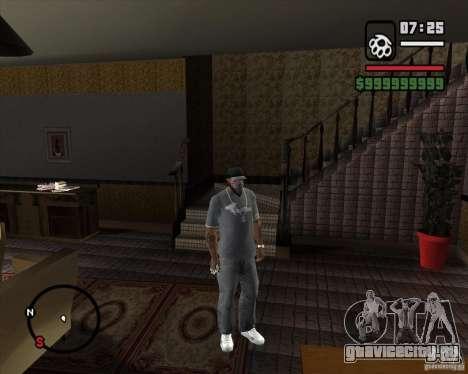 Замена всего дома CJея для GTA San Andreas второй скриншот