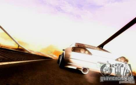 Nissan 150SX Drift для GTA San Andreas вид сверху