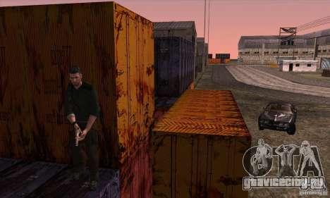 Sam Fisher для GTA San Andreas седьмой скриншот
