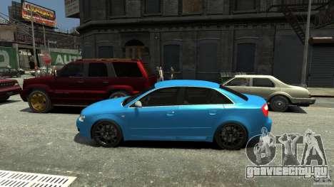 Audi S4 2000 для GTA 4 вид слева