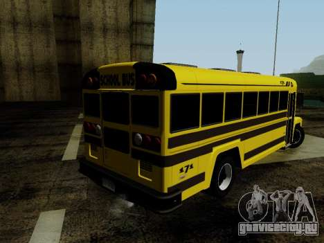 International Harvester B-Series 1959 School Bus для GTA San Andreas вид слева