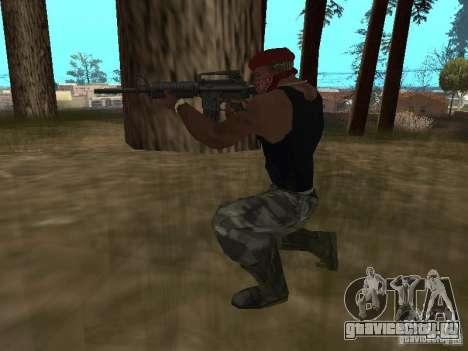 M4A1 для GTA San Andreas пятый скриншот