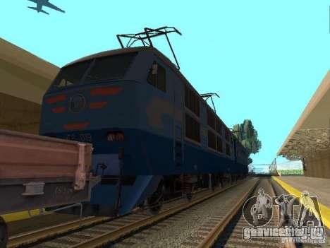 ЧС6 019 для GTA San Andreas вид сзади слева