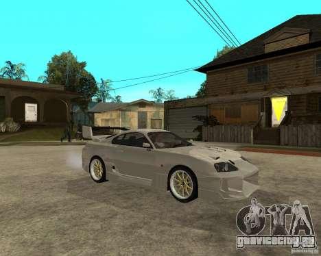 Toyota Supra M4K для GTA San Andreas вид справа