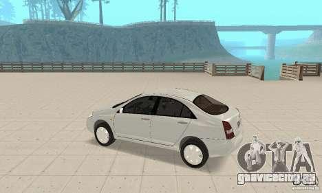 Nissan Primera для GTA San Andreas вид сзади