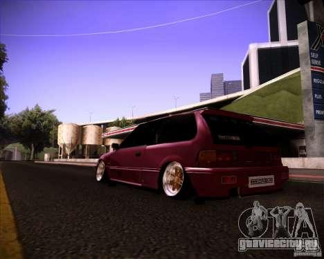 Honda Civic EF9 Hatch Stock для GTA San Andreas вид слева