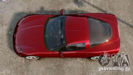Chevrolet Corvette Z51 для GTA 4 вид справа