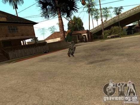 Кидание пилы для GTA San Andreas третий скриншот