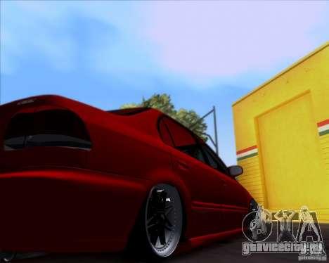 Honda Civic 16 LK 664 для GTA San Andreas вид изнутри