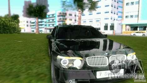 BMW 7-Series 2002 для GTA Vice City вид слева