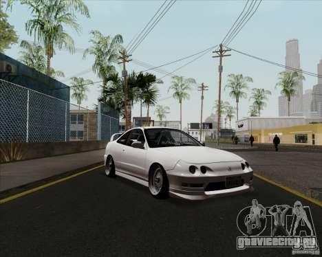 Acura Integra для GTA San Andreas вид слева