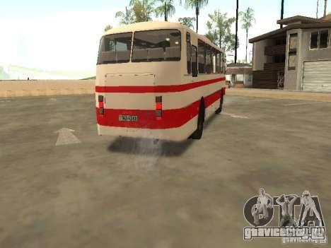 ЛАЗ 699Р 98 021 для GTA San Andreas вид изнутри
