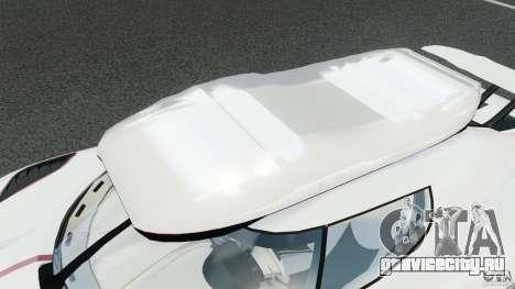 Koenigsegg Agera R v2.0 [EPM] для GTA 4 колёса