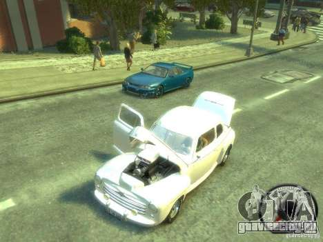 Ford Super Deluxe 1948 для GTA 4 вид сзади