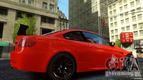 BMW M3 GTS Final для GTA 4 вид сзади слева