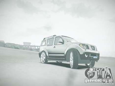 Nissan Pathfinder 2010 для GTA 4 вид сверху