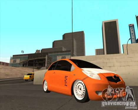 Toyota Yaris II Pac performance для GTA San Andreas