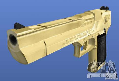 Desert Eagle Retex 1.2 Gold для GTA 4 второй скриншот