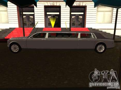 Rolls-Royce Phantom Limousine 2003 для GTA San Andreas вид слева