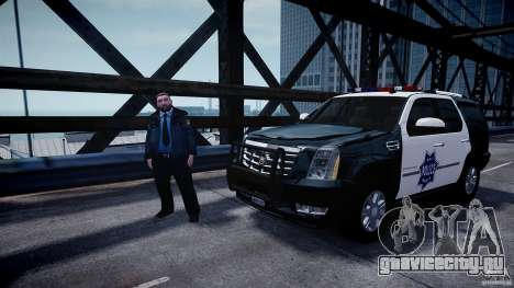 Cadillac Escalade Police V2.0 Final для GTA 4